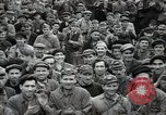 Image of Bulgarian citizens signing letter of appreciation Sofia Bulgaria, 1947, second 24 stock footage video 65675032349