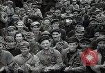 Image of Bulgarian citizens signing letter of appreciation Sofia Bulgaria, 1947, second 27 stock footage video 65675032349