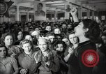 Image of Bulgarian citizens signing letter of appreciation Sofia Bulgaria, 1947, second 30 stock footage video 65675032349