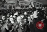 Image of Bulgarian citizens signing letter of appreciation Sofia Bulgaria, 1947, second 33 stock footage video 65675032349