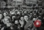Image of Bulgarian citizens signing letter of appreciation Sofia Bulgaria, 1947, second 39 stock footage video 65675032349