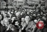 Image of Bulgarian citizens signing letter of appreciation Sofia Bulgaria, 1947, second 40 stock footage video 65675032349