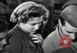 Image of Bulgarian citizens signing letter of appreciation Sofia Bulgaria, 1947, second 42 stock footage video 65675032349