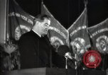 Image of pre-election gathering Moscow Russia Soviet Union, 1947, second 45 stock footage video 65675032356