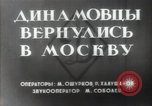 Image of Dynamo Sports Club athletes Moscow Russia Soviet Union, 1956, second 3 stock footage video 65675032360