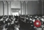 Image of premier of a Russian movie Russia, 1948, second 6 stock footage video 65675032364