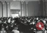 Image of premier of a Russian movie Russia, 1948, second 7 stock footage video 65675032364