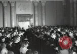 Image of premier of a Russian movie Russia, 1948, second 9 stock footage video 65675032364