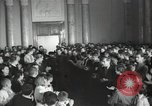 Image of premier of a Russian movie Russia, 1948, second 13 stock footage video 65675032364