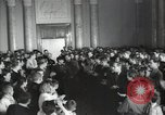 Image of premier of a Russian movie Russia, 1948, second 14 stock footage video 65675032364