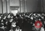 Image of premier of a Russian movie Russia, 1948, second 15 stock footage video 65675032364