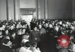 Image of premier of a Russian movie Russia, 1948, second 17 stock footage video 65675032364