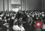 Image of premier of a Russian movie Russia, 1948, second 20 stock footage video 65675032364
