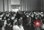 Image of premier of a Russian movie Russia, 1948, second 21 stock footage video 65675032364