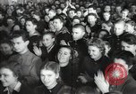 Image of premier of a Russian movie Russia, 1948, second 22 stock footage video 65675032364