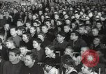 Image of premier of a Russian movie Russia, 1948, second 40 stock footage video 65675032364