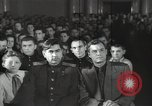 Image of premier of a Russian movie Russia, 1948, second 59 stock footage video 65675032364