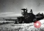 Image of new harvest Turkmenistan, 1949, second 27 stock footage video 65675032367