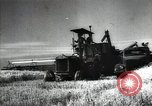 Image of new harvest Turkmenistan, 1949, second 28 stock footage video 65675032367