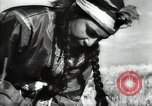 Image of new harvest Turkmenistan, 1949, second 39 stock footage video 65675032367