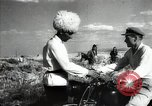 Image of new harvest Turkmenistan, 1949, second 56 stock footage video 65675032367