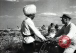 Image of new harvest Turkmenistan, 1949, second 57 stock footage video 65675032367