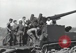 Image of 155mm gun   Korea, 1950, second 21 stock footage video 65675032372