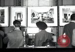 Image of Drawings and paintings of White House rooms United States USA, 1940, second 1 stock footage video 65675032382