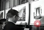 Image of Drawings and paintings of White House rooms United States USA, 1940, second 21 stock footage video 65675032382