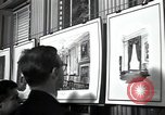Image of Drawings and paintings of White House rooms United States USA, 1940, second 25 stock footage video 65675032382