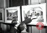 Image of Drawings and paintings of White House rooms United States USA, 1940, second 35 stock footage video 65675032382