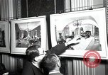 Image of Drawings and paintings of White House rooms United States USA, 1940, second 36 stock footage video 65675032382