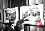 Image of Drawings and paintings of White House rooms United States USA, 1940, second 37 stock footage video 65675032382