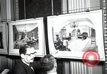 Image of Drawings and paintings of White House rooms United States USA, 1940, second 38 stock footage video 65675032382