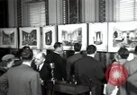 Image of Drawings and paintings of White House rooms United States USA, 1940, second 44 stock footage video 65675032382