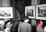 Image of Drawings and paintings of White House rooms United States USA, 1940, second 48 stock footage video 65675032382