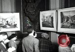 Image of Drawings and paintings of White House rooms United States USA, 1940, second 50 stock footage video 65675032382