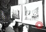 Image of Drawings and paintings of White House rooms United States USA, 1940, second 59 stock footage video 65675032382