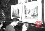 Image of Drawings and paintings of White House rooms United States USA, 1940, second 60 stock footage video 65675032382