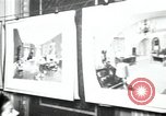 Image of Drawings and paintings of White House rooms United States USA, 1940, second 62 stock footage video 65675032382