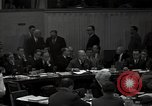 Image of UN Security Council meeting New York City USA, 1951, second 18 stock footage video 65675032384