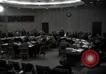 Image of UN Security Council meeting New York City USA, 1951, second 40 stock footage video 65675032384