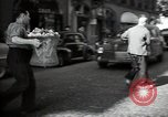 Image of Sanitation trucks and workers Paris France, 1953, second 3 stock footage video 65675032388