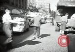 Image of Sanitation trucks and workers Paris France, 1953, second 4 stock footage video 65675032388