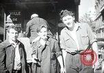 Image of Sanitation trucks and workers Paris France, 1953, second 12 stock footage video 65675032388