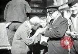 Image of Sanitation trucks and workers Paris France, 1953, second 15 stock footage video 65675032388