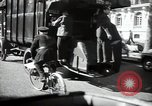 Image of Sanitation trucks and workers Paris France, 1953, second 23 stock footage video 65675032388