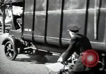 Image of Sanitation trucks and workers Paris France, 1953, second 25 stock footage video 65675032388