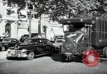 Image of Sanitation trucks and workers Paris France, 1953, second 33 stock footage video 65675032388