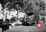 Image of Sanitation trucks and workers Paris France, 1953, second 36 stock footage video 65675032388